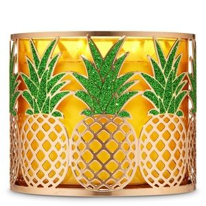 Bath and body works Pineapple candle holder